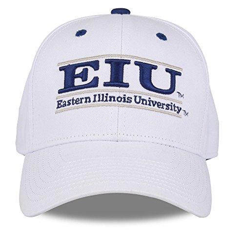 NCAA Eastern Illinois Panthers Unisex NCAA The Game bar Design Hat, White, Adjustable