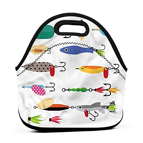Removable Shoulder Strap Fishing,Stinger Net and Worms,moana lunch bag for girls