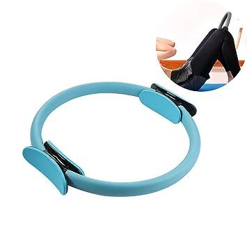 CWDXD Rueda Yoga para Anillo de Pilates, Doble manija ...