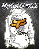 Personalized Airbrush Fox Hoodie