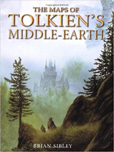 Amazon.com: The Maps of Tolkien's Middle earth (9780618391103