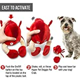 Hyper Pet Doggie Pal Interactive Dog Toys (Wiggles, Vibrates, and Barks – Plush Dog Toys For Boredom and Stimulating Play) [1-Year Warranty for Manufacturer
