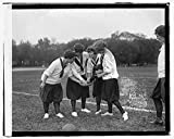 Vintography 16 x 20 Reprinted Old Photo ofGirls soccer 1919 National Photo Co 52a