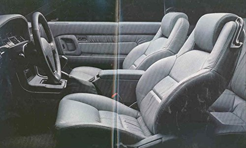 Amazon.com: 1989 Toyota Supra Turbo Cpe Convertible Brochure Swiss: Entertainment Collectibles