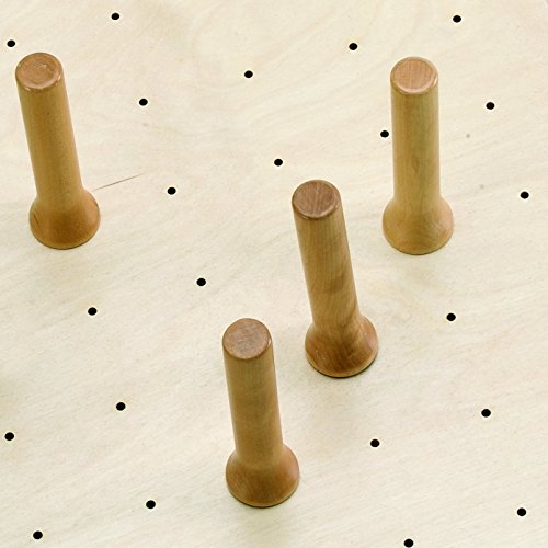(Rev-A-Shelf Extra Wood Pegs for 4DPS System Drawer Organizers, Natural)