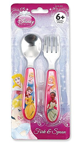 Princess Stainless Steel Fork & Spoon Set