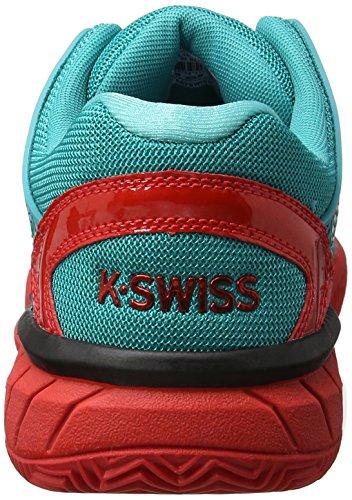 Tennis Viridian K Fiery Verde Performance Swiss Red Green Uomo Hypercourt Express da HB Scarpe wq0A1qvrgH