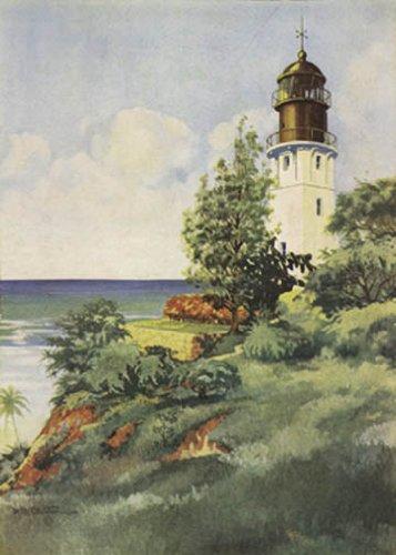 Hot Stuff 2056 -LI Lighthouse At Diamond Head Poster