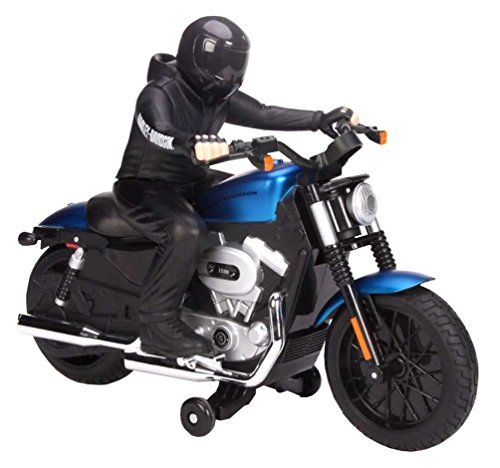 Maisto R/C Harley Davidson XL 1200N Nightster with Rider Radio Control Vehicle (Colors May Vary)