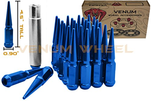 Venum wheel accessories Blue Spike Lug Nuts Steel 4.5