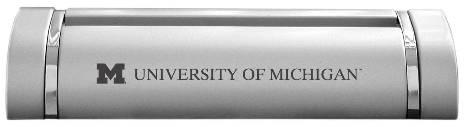 Amazon university of michigan desk business card holder amazon university of michigan desk business card holder silver office products colourmoves