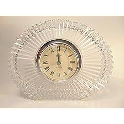 Lead Mikasa Crystal Desk Clock
