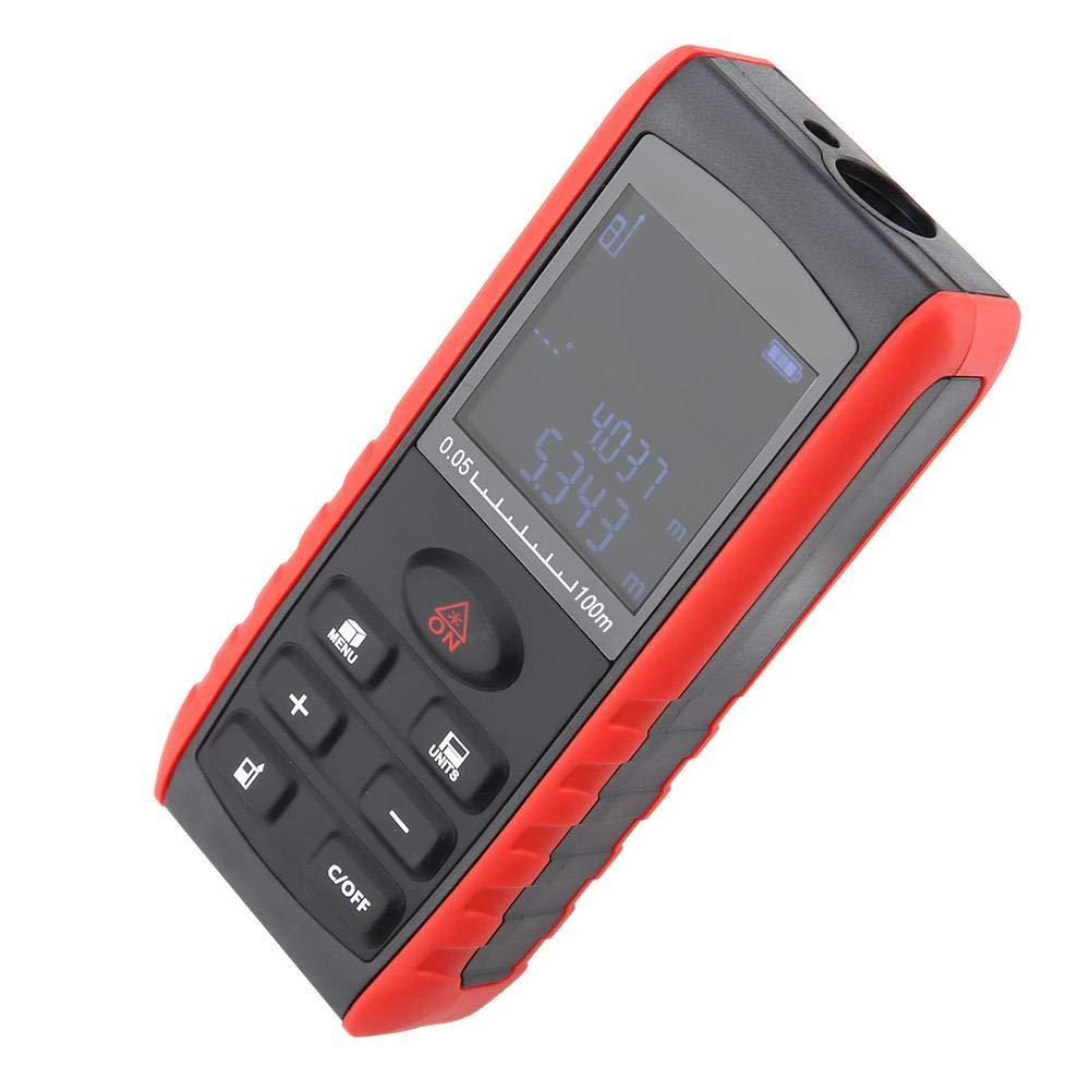 KXL-E Medidor de Distancia L/áser de Mano Digital Tel/émetro Buscador de Rango L/áser de Precisi/ón E40 sin bater/ía