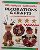 img - for Christmas Crafters: Decorations & Crafts to Make Your Christmas Merry book / textbook / text book