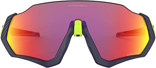 Oakley Men's Oo9401 Flight Jacket Shield Sunglasses Rectangular
