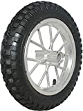 Rim and Tire Set - Front 8'' Chrome Rim with 12.5x2.75 Tire, Disc Brake