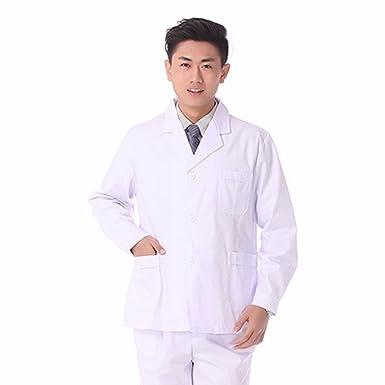 Xuanku El Doctor Doctor Xiaogua Verano De Manga Corta Masculina del Médico De Bata Blanca Cubra