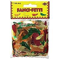 Accesorio para fiestas Fanci-Fetti Chili Peppers (GD /G /O /R) (1 conteo) (1 oz /Pkg)