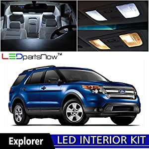 Ledpartsnow 2015 2017 Ford Explorer Led Interior Lights Accessories Replacement