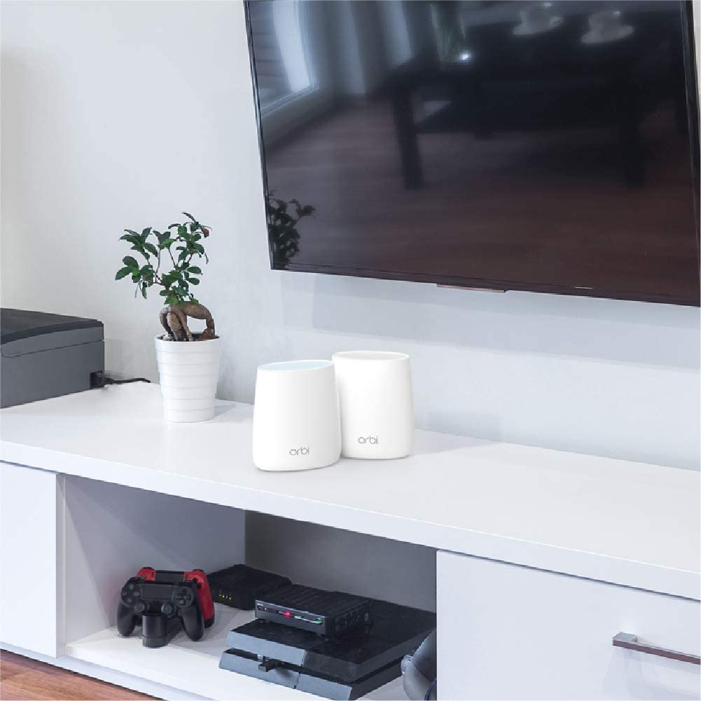 AC2200 NETGEAR Orbi Whole Home Mesh-Ready WiFi Router for speeds up to 2.2 Gbps Over 2,000 sq RBR20 feet Renewed