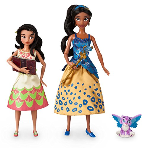 Elena of Avalor Deluxe Singing Doll Set - 11'' (with 10'' Isabel) (Elena Of Avalor Deluxe Singing Doll Set)