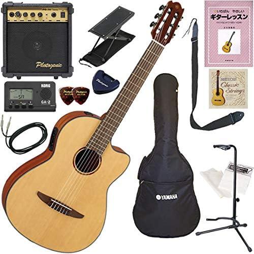YAMAHA エレガット 初心者 入門 本格的なクラシックギターのスタイルと優れた演奏性を融合 すぐに始められるスタンダード13点セット NCX1