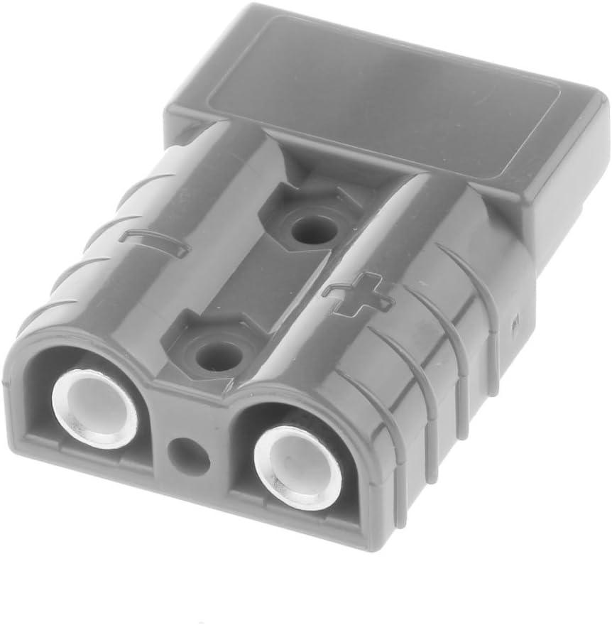 B Baosity Batterie Convient pour 8 AWG 600V AC//DC Gris
