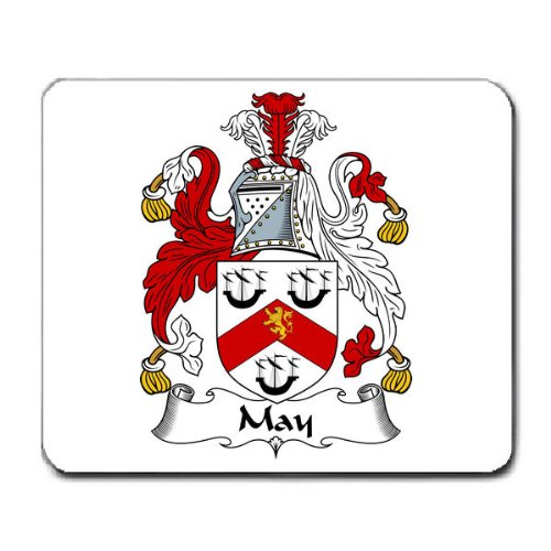 krug-family-crest-coat-of-arms-mouse-pad
