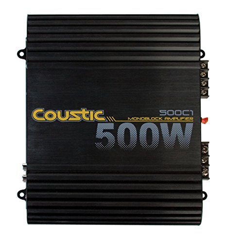 MTX Audio 500C1 Coustic Car Amplifier (Coustic Amp)