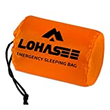 LOHASEE Compact Emergency Sleeping Bag, Waterproof and Ultra Lightweight Survival Bivy Sack for Emergency Shelter, Tent Camping & Survival Gear Kit