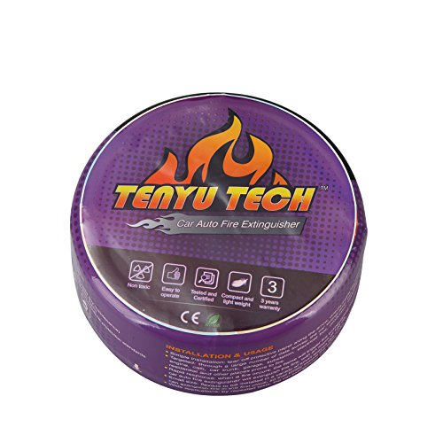 TENYU AFO Car, Electric or Circuit Box Automatic Fire Extinguisher Ball (Purple) Automatic Fire Extinguisher