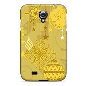 Anti-scratch And Shatterproof Christmas Ornaments Phone Case For Galaxy S4/ High Quality Tpu Case