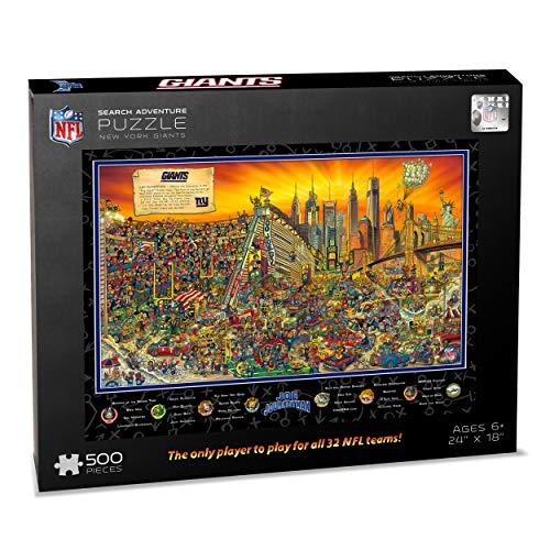 NFL New York Giants Joe Journeyman Puzzle - 500-piece