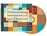 Differentiating Instruction in the Regular Classroom, Diane Heacox, 1575421186