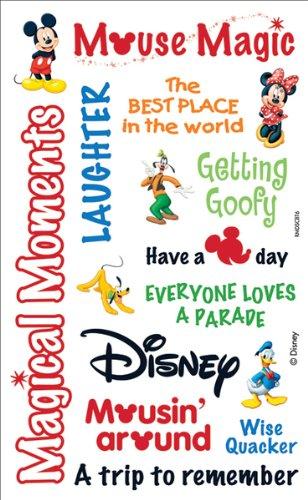 (Sandylion Disney Mickey Rub-Ons Packaged: Mickey Words)