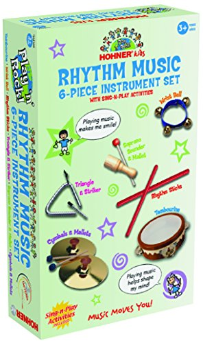 Hohner 6 Piece Rhythm Instrument Set