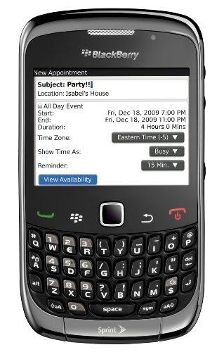 - BlackBerry Curve 3G 9330 Phone, Grey (Sprint)