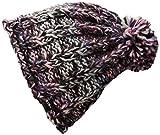 Screamer Women's Katy Beanie Hat, Purple/Orchid/Denim, One Size