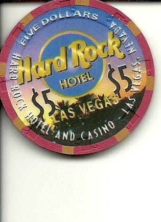 ($5 hard rock desert scene las vegas casino)