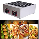 Hengwei Takoyaki maker Octopus ball Cooking Baking machine 56 holes grill pan Kitchen