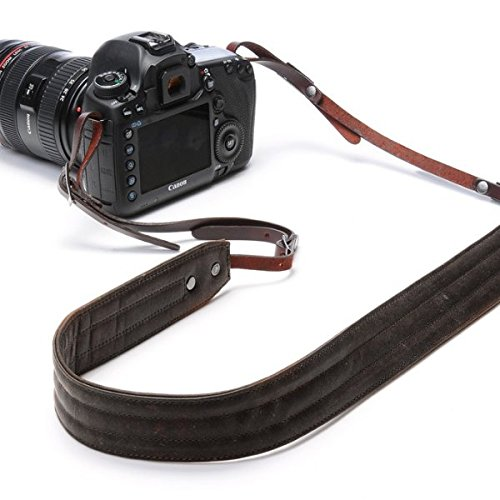 - ONA - The Presidio - Camera Strap - Dark Truffle Leather (ONA023LDB)