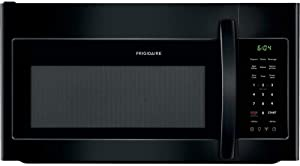 Frigidaire 1.8 Cu. Ft. Black Over-The-Range Microwave