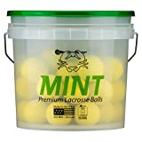 36 Yellow East Coast Dyes ECD MINT NOCSAE Lacrosse Game Ball