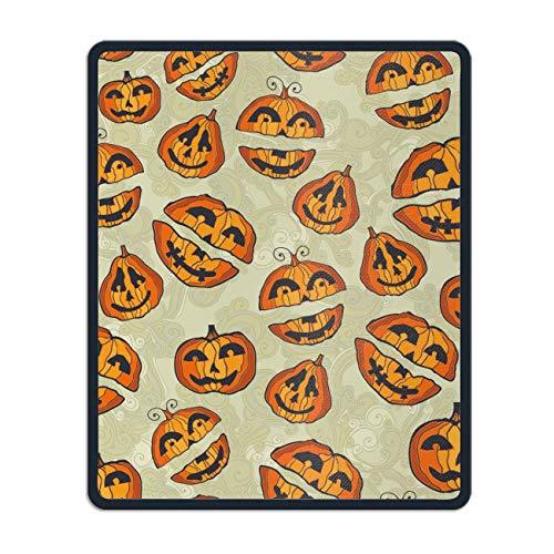 Halloween Pumpkins Cute Non-Slip Rubber Mousepad Custom Gaming