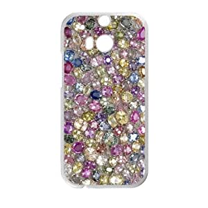 Clzpg Customized HTC One M8 Case - Diamond shell phone case