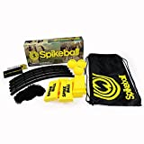 Spikeball 3 Ball Game Set - As Seen On Shark Tank - Outdoor, Yard, Lawn, Indoor, Beach, Tailgate - Includes Playing Net, 3 Balls, Drawstring Bag, Rule Book - Great Gift for Adults, Teens, Family