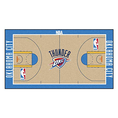 FANMATS NBA Oklahoma City Thunder Nylon Face NBA Court Runner-Small
