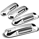 2003 ford explorer tailgate cover - Ford Explorer 4DR 4pcs Exterior Door Handle Cover without Passenger Keyhole (Chrome)