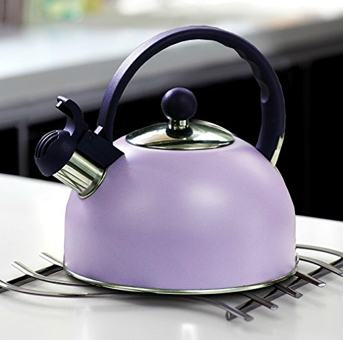 purple tea kettle whistling - 8