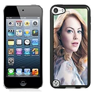 Beautiful Custom Designed Cover Case For iPod Touch 5th With Emma Stone Long Hair Phone Case
